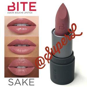 2/$15 NEW Bite Beauty AMUSE BOUCHE LIPSTICK Sake